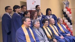 9 aboriginal graduates of JEDI-NBCC IT program, MAD