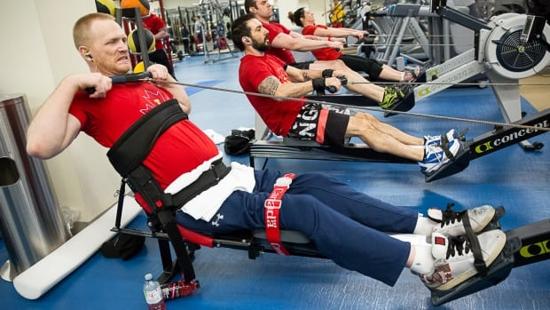 Invictus Games training