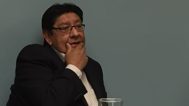 Rainy River First Nations Chief Jim Leonard says a public meeting in Thunder Bay is an opportunity to start a discussion.