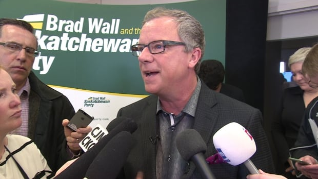 The leader of the Saskatchewan Party, Brad Wall, continues to lead in the polls.