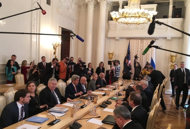 Foreign affairs meeting , Moscow Russia March 24, 2016