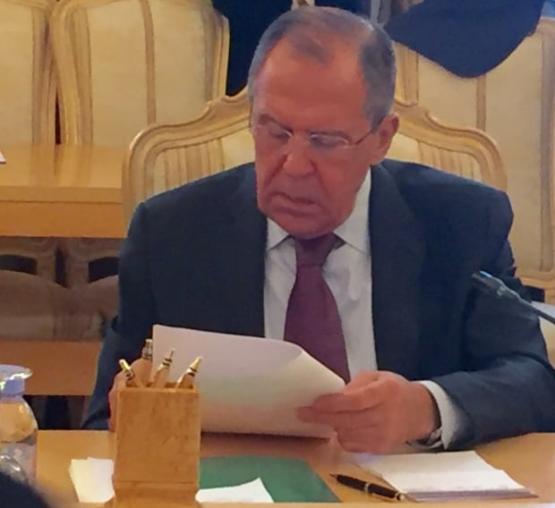 Sergey Lavrov Minister of Foreign Affairs Russian Federation