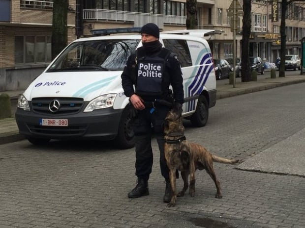 Police operation Brussels Friday