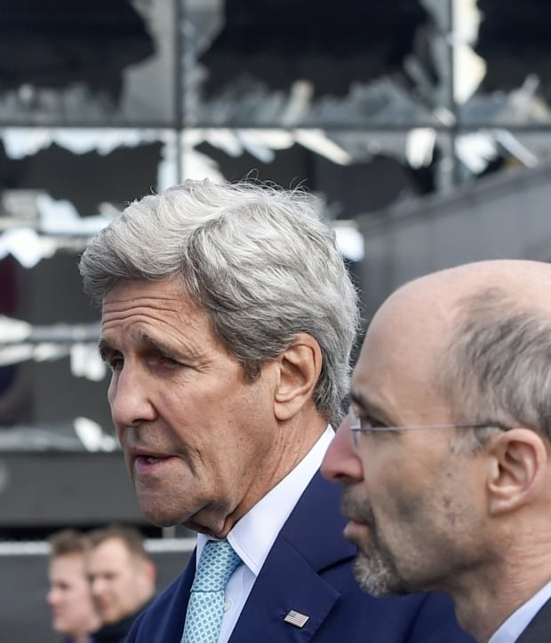 Kerry in Brussels