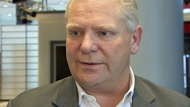 Doug Ford will run for mayor in the 2018 municipal election.