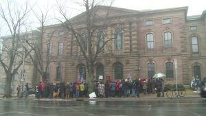 Halifax Ghomeshi Rally