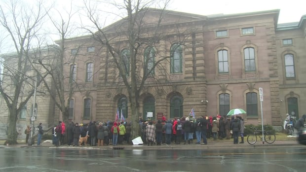 Halifax Ghomeshi Rally