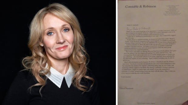 A fan on Twitter asked J.K. Rowling to share her Harry Potter rejection letters, of which she famously received many, but Rowling replied that she'd stored those in the attic.