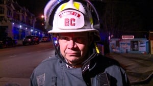 SURREY FIRE BATTALION CHIEF ANDY GEORGE