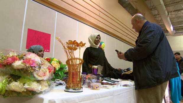 One of 22 businesses featured in Winnipeg's first-ever Muslim trade show at the Grand Mosque on Saturday.