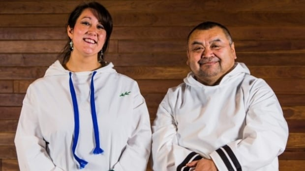 Deantha Edmunds and Karrie Obed are the featured soloists on an album of classical Moravian music sung in Inuktitut, as performed in churches on the north coast of Labrador.