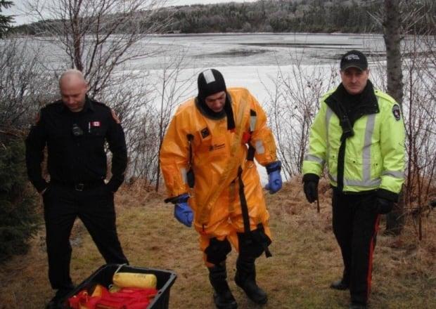 Canoeist Rescued Dog