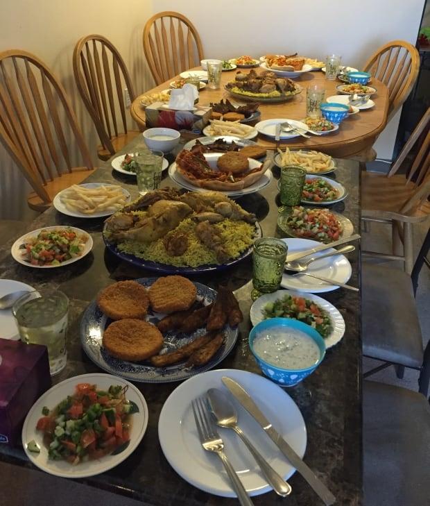 Good Friday Syrian feast