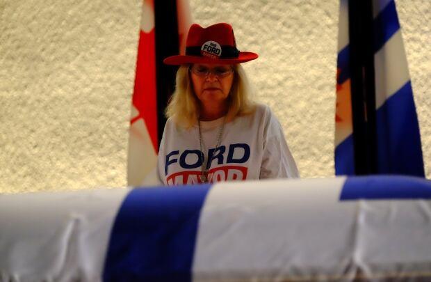 Toronto Rob Ford Cowboy Hat (Photo by John Rieti)
