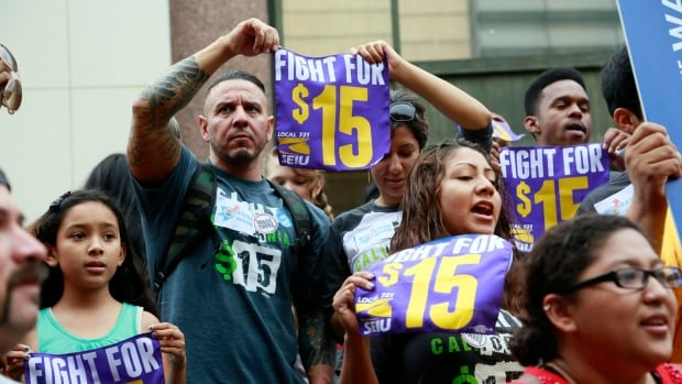 If it happens, a $15 wage in California will give the state the highest minimum wage level in America.