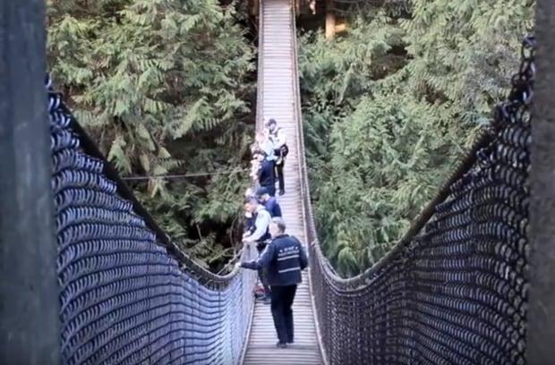 Lynn Canyon rescue