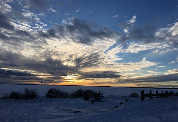 La Loche sunset