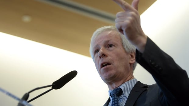 Foreign Affairs Minister Stéphane Dion speaks at the University of Ottawa in Ottawa on Tuesday. Dion outlined a new approach to foreign policy that he labelled 'responsible conviction.'