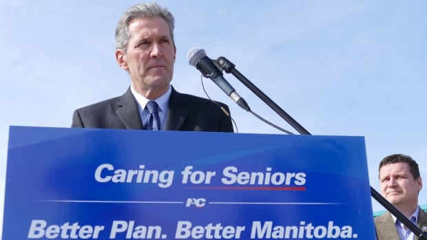 PC Leader Brian Pallister says Manitoba would join the New West Partnership Trade Agreement to boost the economy and create jobs if elected April 19.