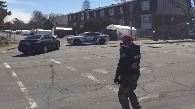 Police had lifted the security cordon in Pierrefonds by Tuesday afternoon.