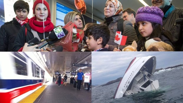 CBC News received 33 nominations for this year's B.C. region RTDNA awards, including nominations for our coverage of the arrival of Syrian refugees, the capsize of the Leviathan II and the transit referendum.