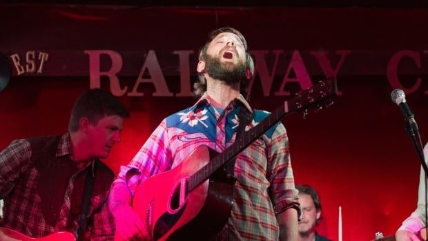 The Strumbellas, above, is just one of many bands to grace the stage of Vancouver's iconic Railway Club over the years. Though the venue will be reopened under by the Donnelly Group bar management chain - it has said live music will not be the focus of the new establishment.