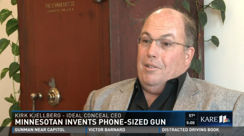 New smartphone-shaped handgun is the ultimate 'concealed carry