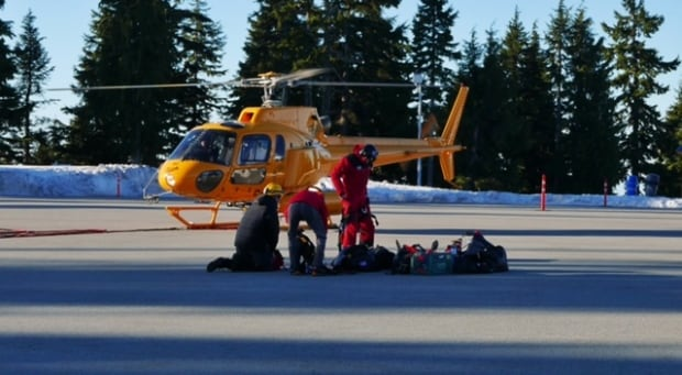 Mount Seymour rescue March