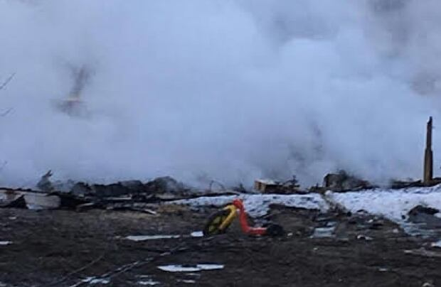 Pikangikum First Nation fire