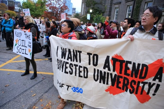 uoft divestment march 1