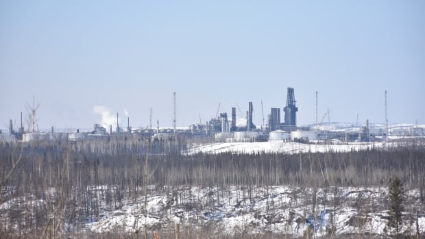 The CNRL Horizon oilsands project is 15 kilometres north of Fort McKay, Alta.