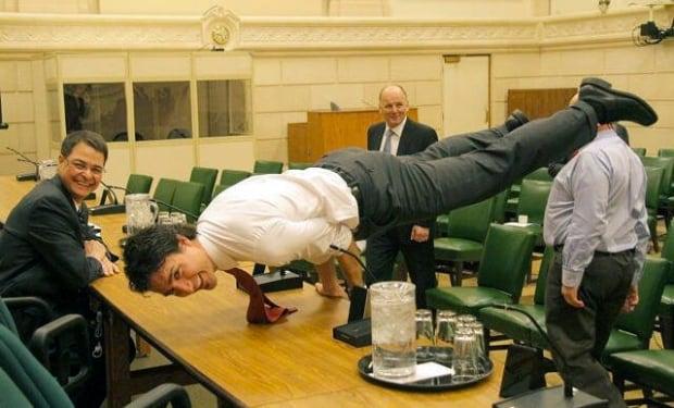 Yoga Trudeau