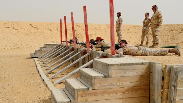 The Canadian contingent of the Multinational Force and Observers (MFO) in the Sinai Peninsula, seen here in April 2013, faces increasing threats from ISIS-like insurgents.