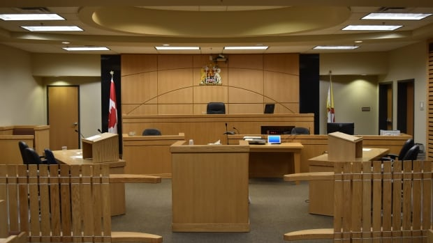 A courtroom in the Nunavut Court of Justice. A recent internal investigation found the court services unit to be a toxic workplace.