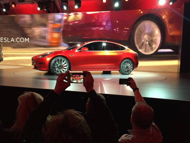 Tesla Lower Priced Model 3 announced March 31 2016