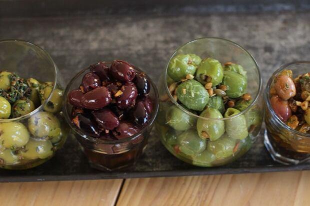 Food Holiday Entertaining Marinated Olives
