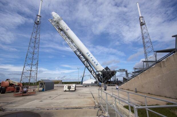 Space-X Falcon 9 rocket