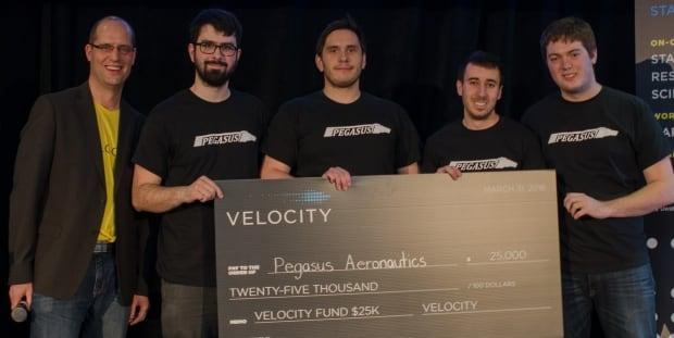 Pegasus Aeronautics Velocity Fund Awards University of Waterloo