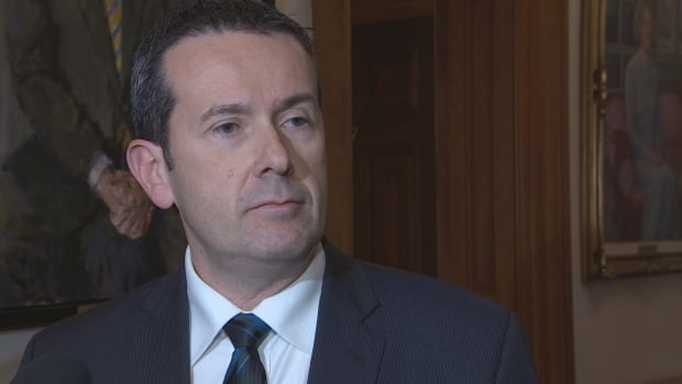 Serge Rousselle, the minister responsible for Service New Brunswick, says the Liberals will use their majority to stop Blaine Higgs's attempt to clear up questions about the property tax scandal.