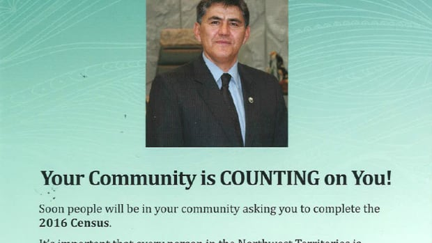 A pamphlet from the N.W.T. government is urging people to participate in the 2016 census.