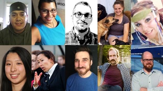 Meet your first 10 finalists in Future 40 Manitoba 2016. Top row, left-right: Fabian Seymour, Marcia Anderson DeCoteau, Chris D., Katie Powell, Nikki Komaksiutiksak. Bottom row, left-right: Lisa Liang, Vanessa Martínez-Lagunas, John Finkbeiner, Adam Brooks, Paul Cantin.