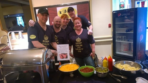 Chefs battle for top tasting poutine at annual festival for Mac s fish and chips