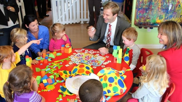 Premier Brian Gallant announced changes that would make daycare more available to children from families on low incomes and early childhood education more attractive as a career.