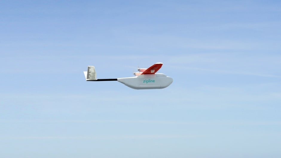 A San Francisco-based drone delivery company, Zipline International Inc., says it will be making its first delivery of blood and medicine in Rwanda this summer.