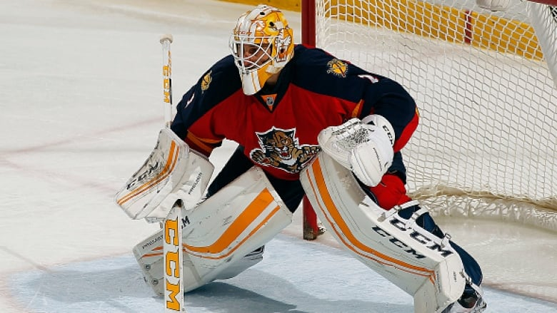 Roberto Luongo Receives Special Cake From Panthers On 37th Birthday