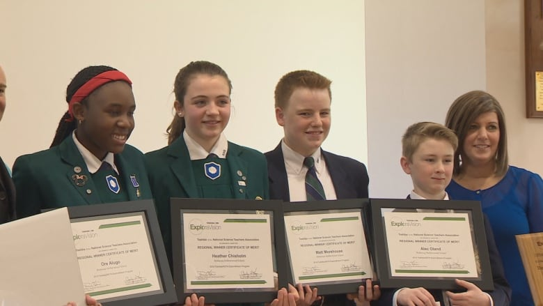 Rothesay students win science competition for bulletproof material design