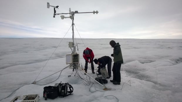 Using new technology not available five years ago, the researchers were able to see the daily rate of ice melt, even when the melt rate was very large.
