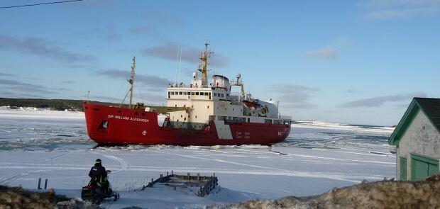 Canadian Coast Guard icebreaker Sir William Alexander