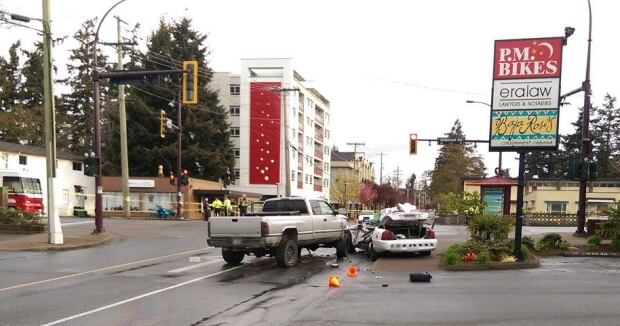 Langford RCMP collision