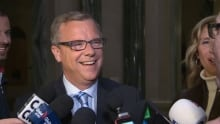 Brad Wall at Saskatchewan Legislature on April 5, 2016